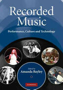 Recorded Music (ISBN: 9780521863094)