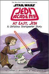 At Last, Jedi (Star Wars: Jedi Academy #9) - Jarrett J. Krosoczka, Amy Ignatow, Jarrett J. Krosoczka (ISBN: 9781338597516)