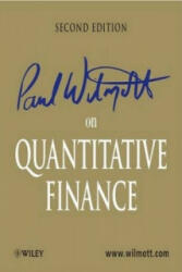 Paul Wilmott on Quantitative Finance - Paul Wilmott (ISBN: 9780470018705)