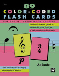 Complete Color-Coded Flash Cards - Alfred Publishing (1996)