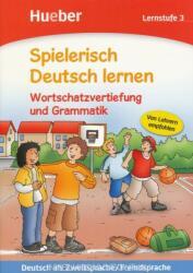 Spielerisch Deutsch lernen. Wortschatzvertiefung und Grammatik. Lernstufe 3 (ISBN: 9783190394708)