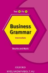 Test It, Fix It: Business Grammar - Kenna Bourke, Amanda Maris (ISBN: 9780194392068)