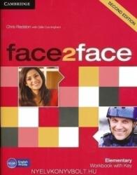 Face2face Elementary Workbook with Key (2012)