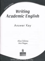 Writing Academic English - 4th Edition Answer Key (ISBN: 9780131947016)