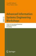 Advanced Information Systems Engineering Workshops - CAISE 2011 International Workshops, London, UK, June 20-24, 2011, Proceedings (2011)