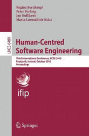 Human-Centred Software Engineering - Third International Conference, HCSE 2010, Reykjavik, Iceland, October 14-15, 2010 : Proceedings (2010)