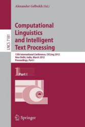 Computational Linguistics and Intelligent Text Processing - Proceedings (2012)