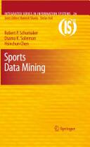 Sports Data Mining (2010)