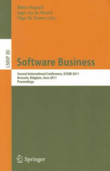 Software Business - Second International Conference, ICSOB 2011, Brussels, Belgium, June 8-10, 2011, Proceedings (2011)