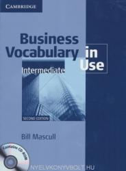 Business Vocabulary in Use: Intermediate with Answers (ISBN: 9780521748629)