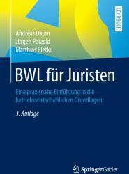 Bwl Fur Juristen (ISBN: 9783658085780)