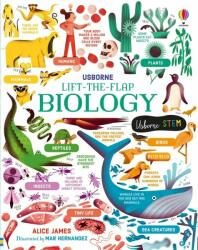 Lift-the-Flap Biology - Alice James (ISBN: 9781474969154)