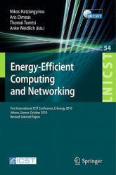 Energy-Efficient Computing and Networking - First International Conference, e-energy 2010, First International ICST Conference, e-energy 2010 Athens, (2011)
