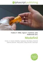 Book - Modafinil - Frederic P. Miller, Agnes F. Vandome, John McBrewster (2009)