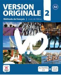 Version Originale 2 ? Livre de l? él? ve + CD audio + DVD (ISBN: 9788484435631)