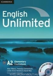 English Unlimited Elementary Coursebook with E-Portfolio (ISBN: 9780521697729)