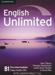 English Unlimited B1 Pre-Intermediate Class Audio CDs (ISBN: 9780521697798)