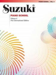 Suzuki Piano School, Volume 6 - Alfred Publishing (2010)