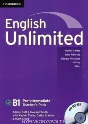 English Unlimited B1 Pre-Intermediate Teacher's Book Pack with DVD-ROM (ISBN: 9780521697804)