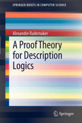Proof Theory for Description Logics (2012)