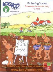 Számfogócska; Összeadás és kivonás 20-ig 2. rész (ISBN: 9789632941219)