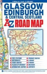 Central Scotland Road Map (2012)