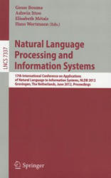 Natural Language Processing and Information Systems - 17th International Conference on Applications of Natural Language to Information Systems, NLDB (2012)
