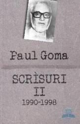 Scrisuri II (1990-1998) - interviuri, dialoguri, scrisori, articole (ISBN: 9786065883277)