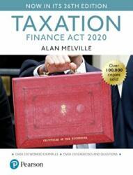 Melville's Taxation: Finance Act 2020 (ISBN: 9781292360713)