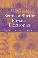 Semiconductor Physical Electronics (2006)