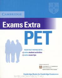 Cambridge Exams Extra PET (ISBN: 9780521676670)