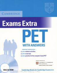 Cambridge Exams Extra: PET with Answers (ISBN: 9780521676687)