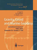 Gravity, Geoid and Marine Geodesy (2010)