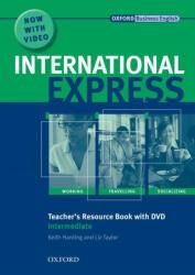 International Express: Intermediate: Teacher's Resource Book with DVD - Liz Taylor, Alastair Lane, Keith Harding, Adrian Wallwork (ISBN: 9780194597425)