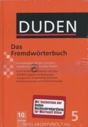 Das Fremdwörterbuch (10. Auflage) - Der Duden in 12 Bänden/Band 5 (ISBN: 9783411040605)