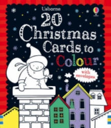 20 Christmas Cards to Colour - Candice Whatmore (ISBN: 9781409522089)