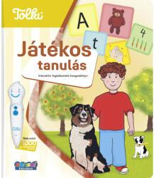 Tolki Interaktív foglalkoztató könyv - Játékos tanulás (ISBN: 9788088317081)