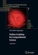 Python Scripting for Computational Science - Hans Petter Langtangen (2010)