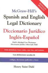 McGraw-Hill's Spanish and English Legal Dictionary: Doccionario Juridico Ingles-Espanol (2010)