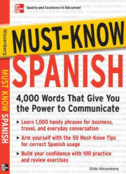 Must-Know Spanish: Essential Words for a Successful Vocabulary (2008)