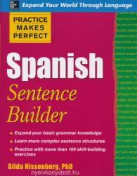 Practice Makes Perfect Spanish Sentence Builder (2009)