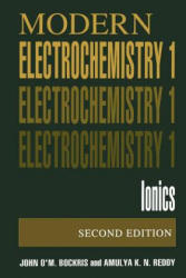 Volume 1: Modern Electrochemistry: Ionics (1998)