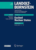 Z = 1-29. Excited Nuclear States (2012)