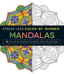 Stress Less Color-By-Number Mandalas - Jim Gogarty (ISBN: 9781507201275)