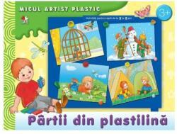 Pârtii din plastilină. Activități 3-4 ani. Micul artist plastic (ISBN: 9786066860093)