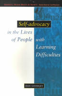 Self-Advocacy In The Lives Of People With Learning Difficulties (2012)
