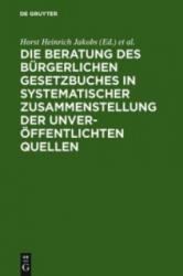 Materialien Zur Entstehungsgeschichte Des Bgb: Einf (1978)