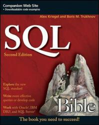 SQL Bible - Alex Kriegel (ISBN: 9780470229064)