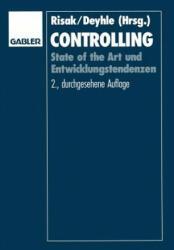 Controlling - Johann Risak, Albrecht Deyhle, Rolf Eschenbach (1992)