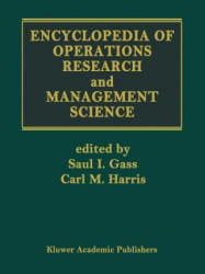 Encyclopedia of Operations Research and Management Science (2012)